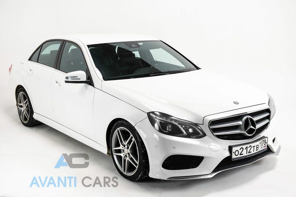 Mercedes E класс 212 белый 2014г